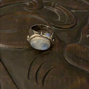 EXEX by Claudia Agudelo Sterling/Quartz Ring